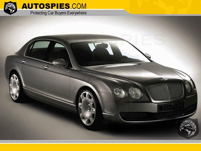 It's official-4-door Bentley Continental announced - AutoSpies Auto News