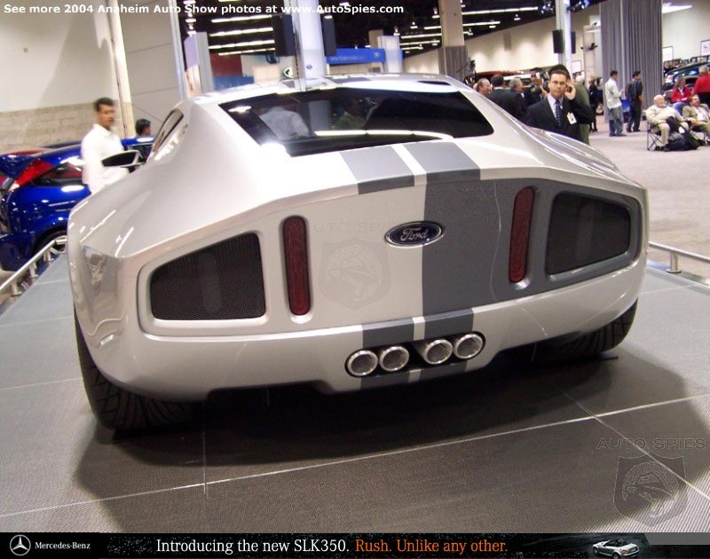 New pics and details of the Ford GR-1 concept - AutoSpies Auto News