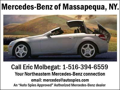 Autospies print for Mercedes benz of massapequa
