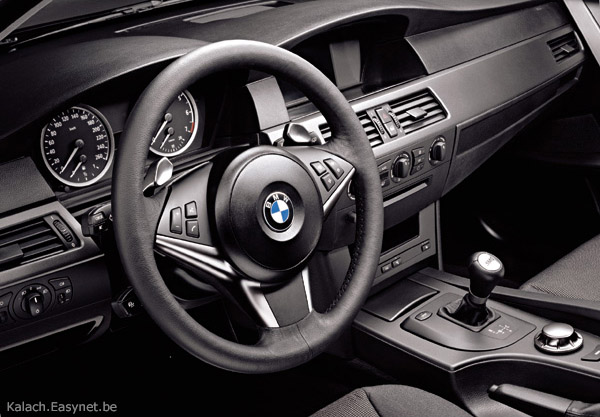 BMW M Interior Photo AutoSpies Auto News - 2005 bmw m5