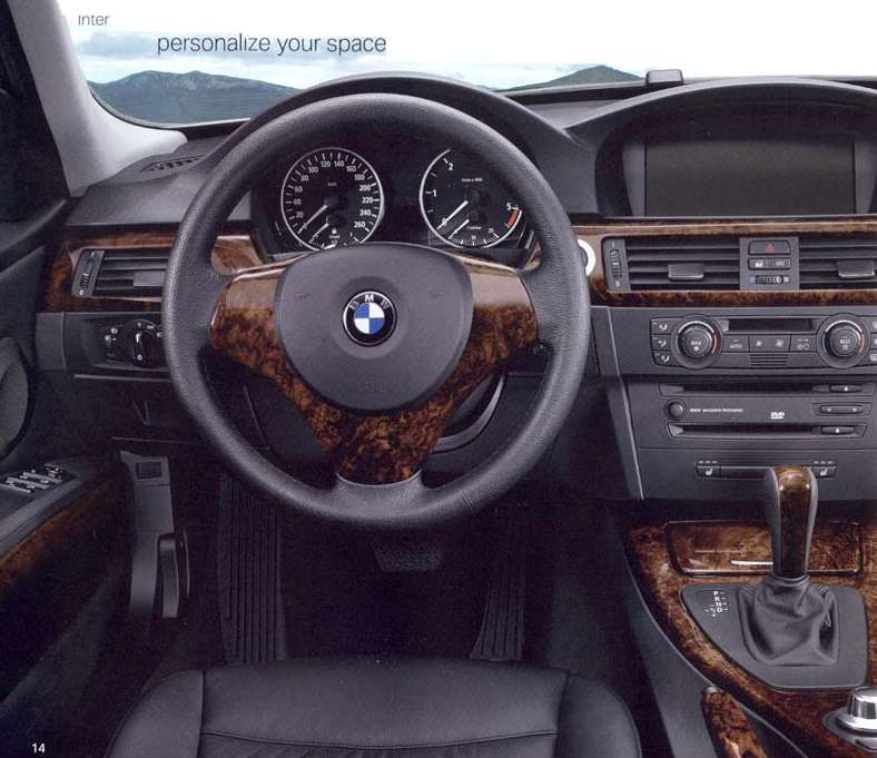 Photo: The Best Looking BMW 3 Series Interior Yet