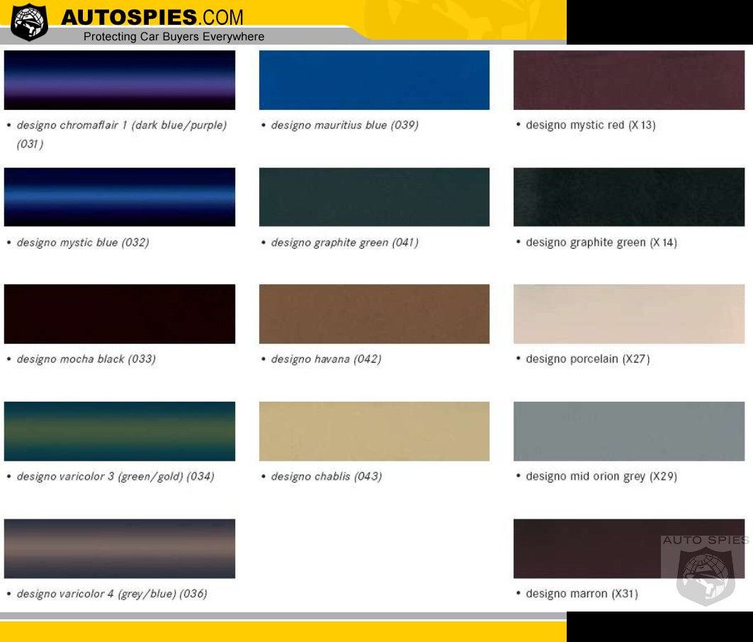 Spies Paint Colors Chart Autos Post