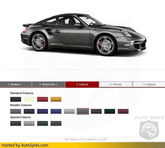 First Photo New For 2007 Porsche 911 In Meteor Grey