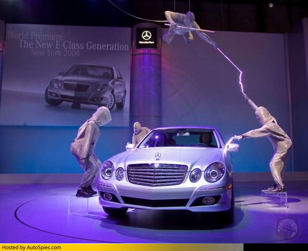 Mercedes takes innovative approach to marketing the new e for Mercedes benz marketing mix