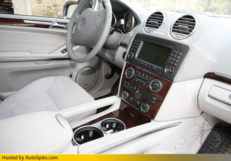 Worksheet. EXCLUSIVE PHOTOS Mercedes GL450 The interior  AutoSpies Auto News