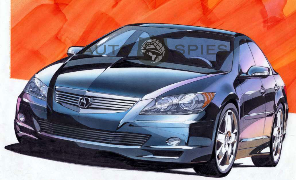 First Look And Info On The 2005 Acura Rl Awd Autospies Auto News