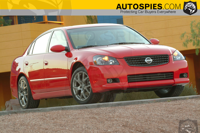 nissan announces 2005 altima se r pricing autospies auto news. Black Bedroom Furniture Sets. Home Design Ideas