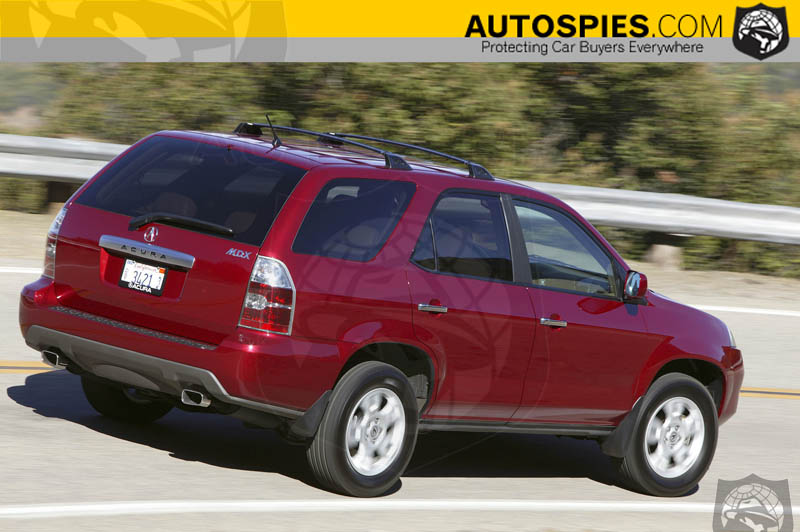 2005 Acura MDX-What's new - AutoSpies Auto News