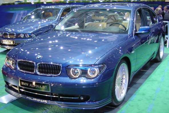 The new Alpina B7  BMW Forum  BimmerWerkzcom