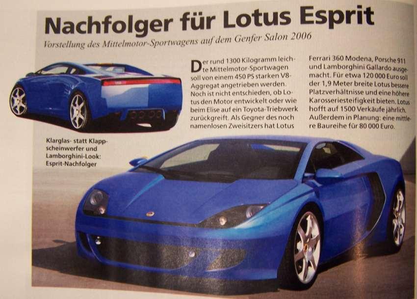 2021 Lotus Esprit 7