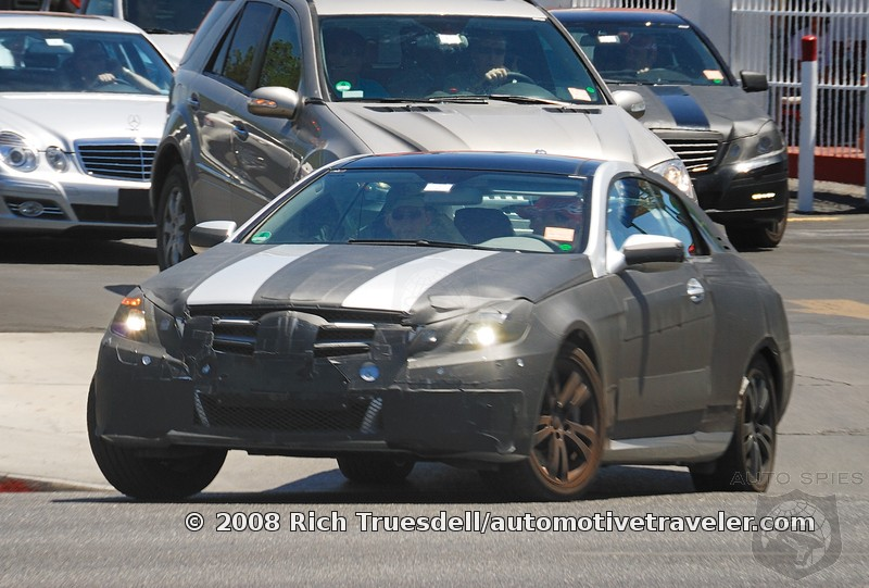 New Mercedes Clk 2011. 2010 Mercedes-Benz CLK Spied