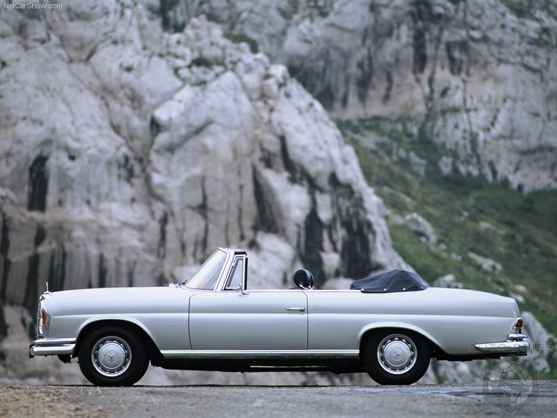 1969 Mercedes-Benz Cabriolet from The Hangover movie