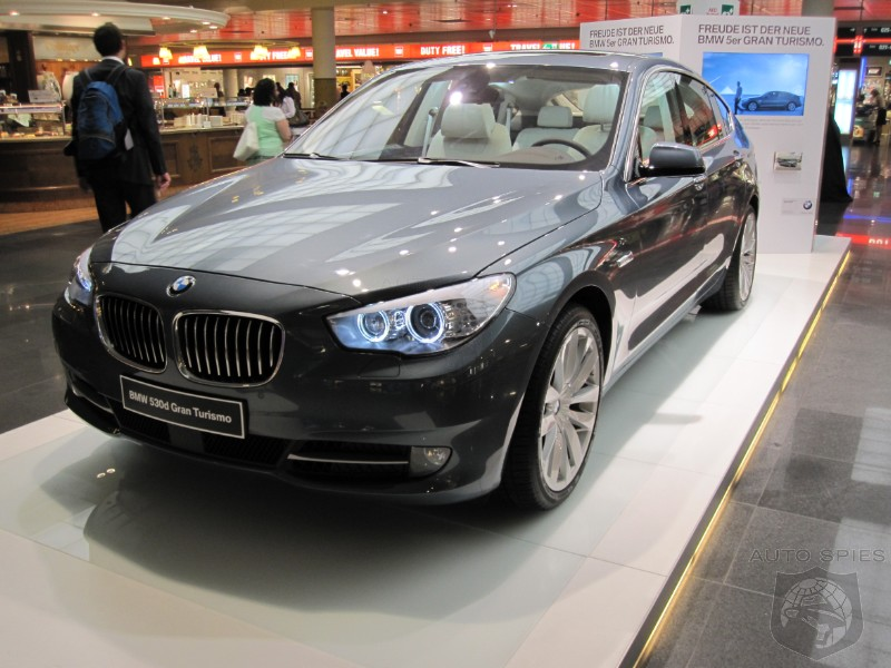 bmw 530d gt on display at munich airport autospies auto news. Black Bedroom Furniture Sets. Home Design Ideas