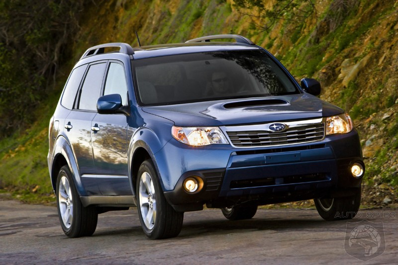 Subaru working on a sporty SUV! Forester WRX on its way?