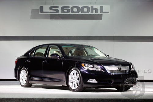 lexus announces pricing for 2008 lexus ls 600h l luxury. Black Bedroom Furniture Sets. Home Design Ideas