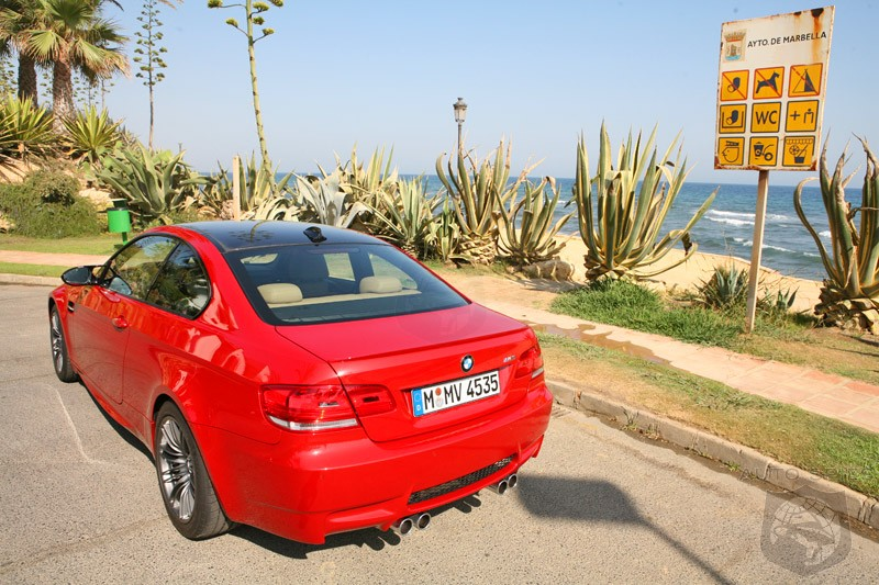 Wicked shots of the 2008 BMW M3 from Spain- Is it the Hottest car of 2008?