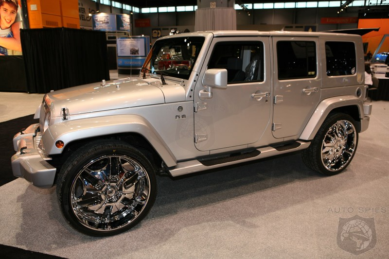 New 4-Door Jeep Wrangler Unlimited-Poor man's