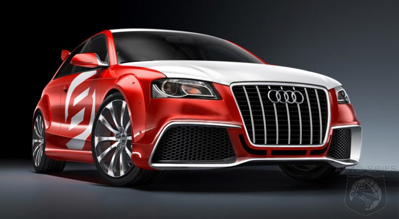 Audi A3 TDI Clubsport Quattro Concept- Is THIS Audi's Answer To The BMW Tii Concept?