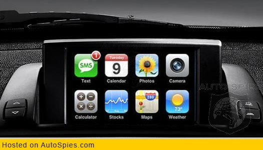 Who will be the first auto manufacturer to integrate the Apple iPhone? Exclusive info.