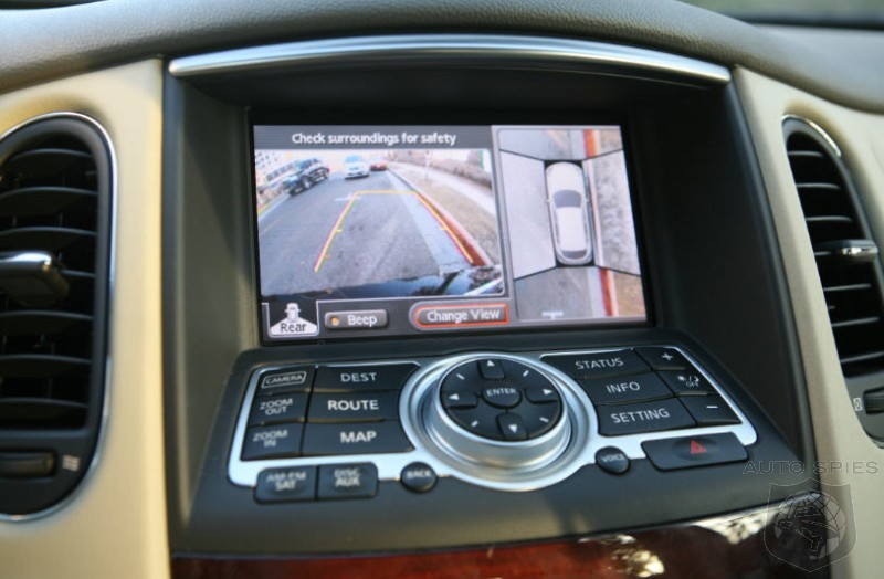 First Video Demo of the Infiniti EX35 Around View Monitor-Exclusive!