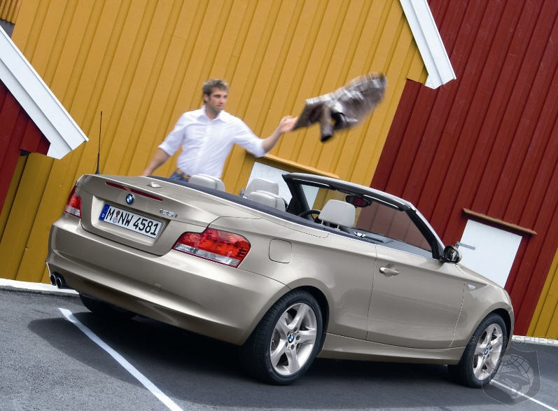 First REAL pics and details of the BMW 1-Series Convertible