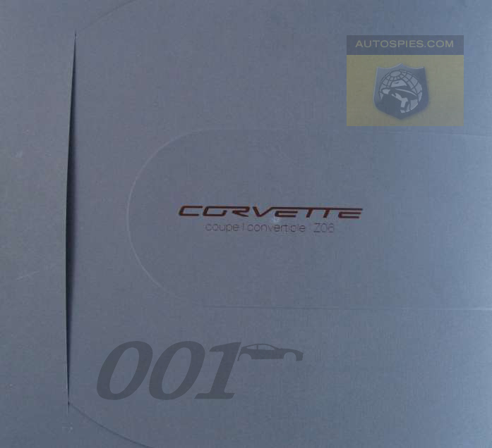 AUTO SPIES WORLD EXCLUSIVE: 2007 Chevrolet Corvette-Full brochure