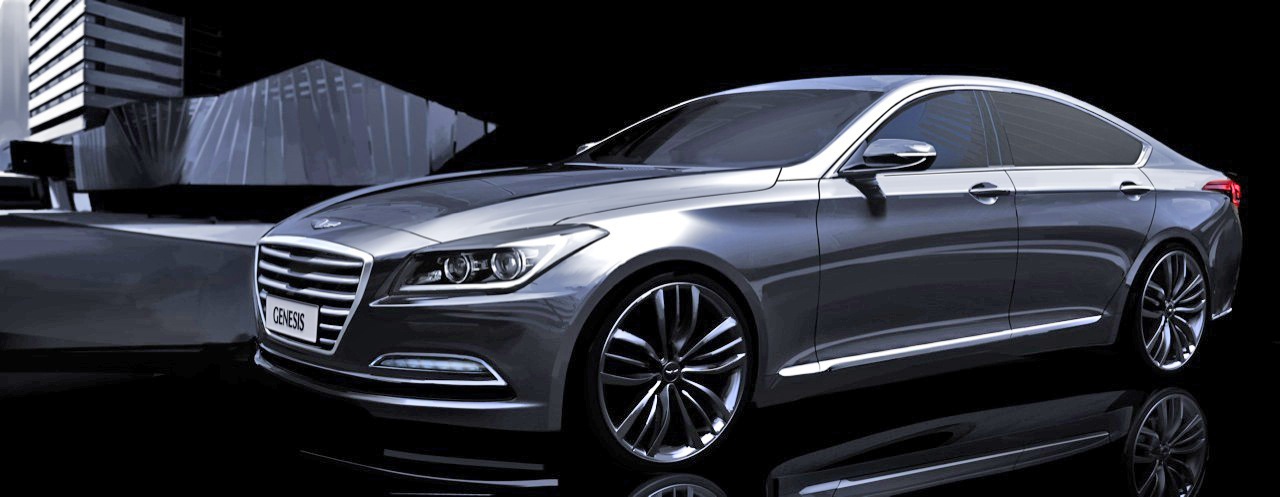 2014 DETROIT AUTO SHOW- First Official Images Of Next Generation Hyundai Genesis Released! STUD ...
