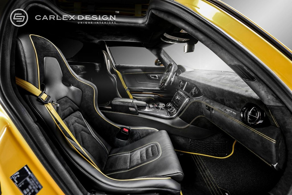 have we found the best looking re do of the mercedes sls interior yet autospies auto news. Black Bedroom Furniture Sets. Home Design Ideas