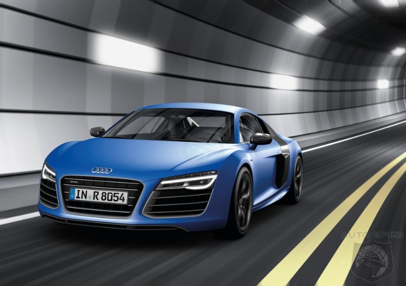 BREAKING: First OFFICIAL Look At The Re-Freshed Audi R8
