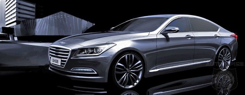 2014 DETROIT AUTO SHOW- First Official Images Of Next Generation Hyundai Genesis Released! STUD Or DUD?