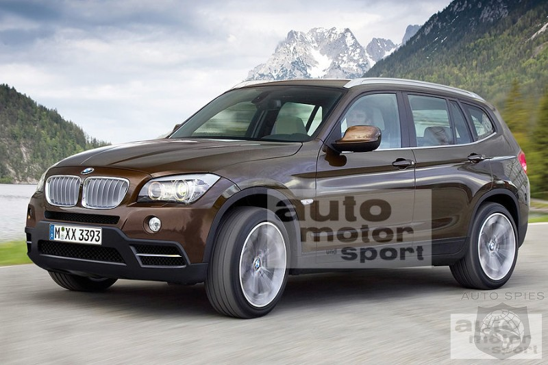 First Look At The Next Generation 2017 Bmw X3