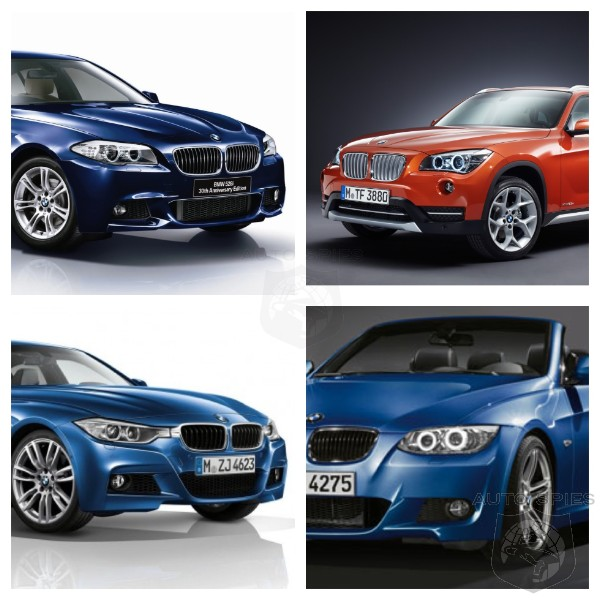 Right Now The BMW 528, 328 Convertible, 328i And X1 Cost
