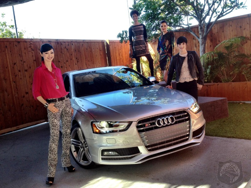 VIDEO: Spies Do A Quick Review Of The 2013 Audi S4 And Throw In A Bonus Fashion Preview For Your Labor Day