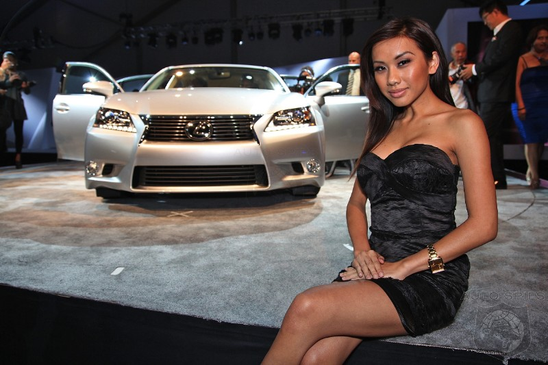 EXCLUSIVE First Look At 2013 Lexus GS In Real Life And New Next Gen In Car Interface