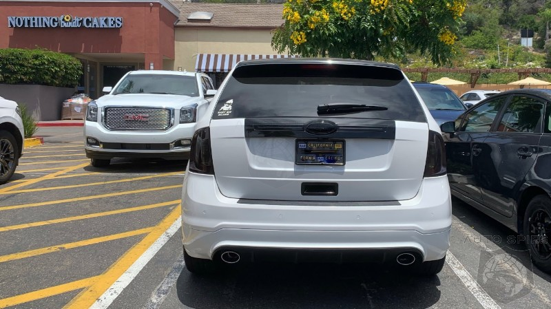 #WhyTho? You Blacked Out The Ford Badge Because You Think People Will Mistake It For A Cayenne?