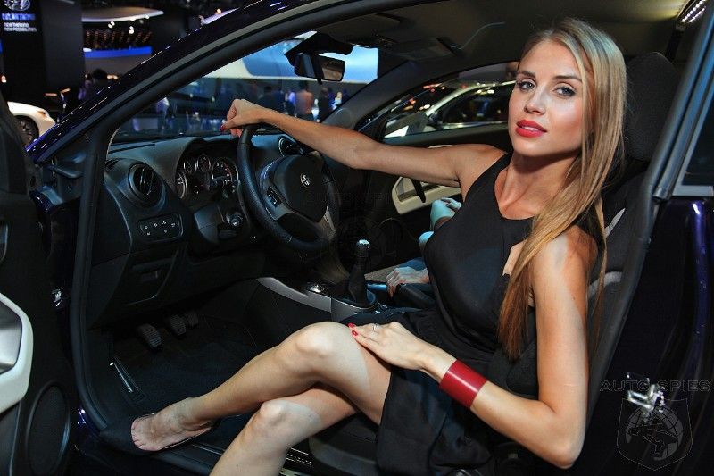 FRANKFURT MOTOR SHOW PHOTOS: TGIF! The GIRLS of The Frankfurt Motor Show UNCOVERED!
