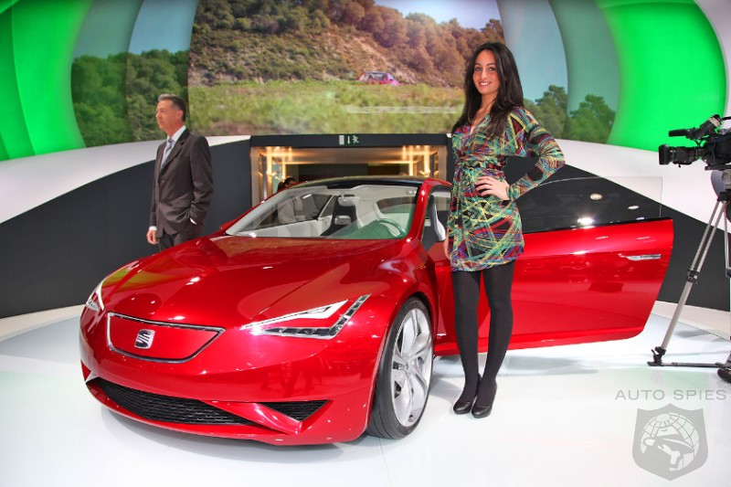 PARIS MOTOR SHOW: EXCLUSIVE: First Photos Live From Show Floor! Awesome!