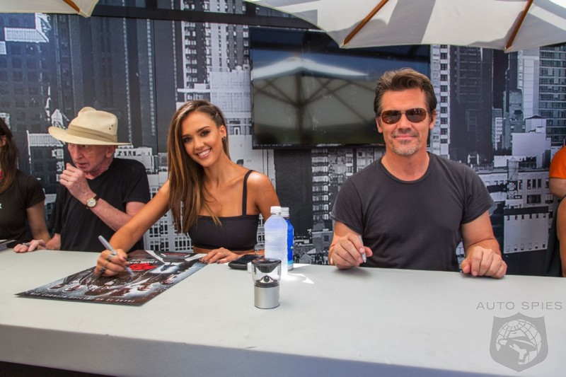 How Do You Make San Diego And ComicCon Even MORE Fun? You Get Exclusive In Person Shots Of Jessica Alba!