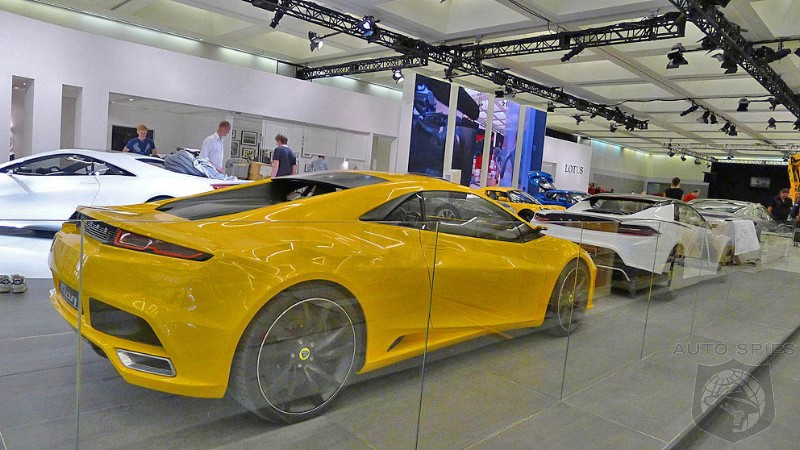 LA Auto Show: First Photos Leak One Day Early. This Time ON PURPOSE.