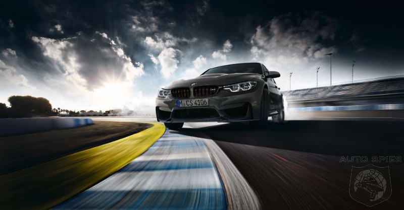 BOOM! Introducing The BMW M3 CS!
