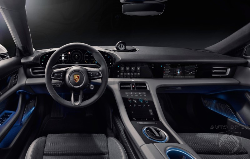 Dear Porsche, This Is Why TEASE Photos Can Backfire. First FULL Interior Shots Of The Taycan