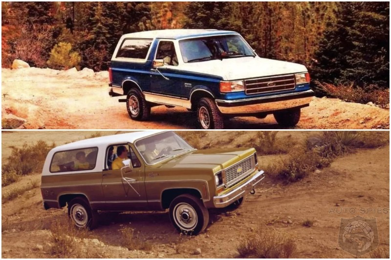 TRUCK WARS FULL SIZE Chevy Blazer Ford Bronco Or Jeep Cherokee Chief Which One Was BEST And Which Would You Love To Own TODAY