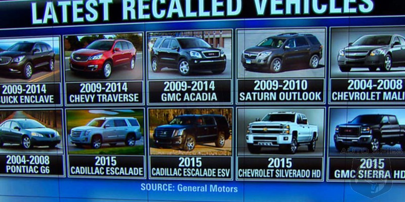 Say WHAT? All the Cars GM Has Recalled This Year Would Wrap the Earth 4 Times!