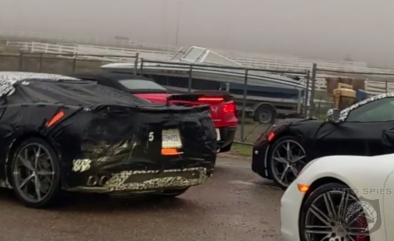 SPIED! Call The Tow Trucks! Upcoming Mid-Engine Corvette CAUGHT DEAD At Gas Station.