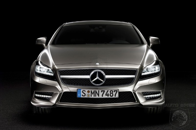 The Never Ending Photo Leak Of The 2011 Mercedes CLS Continues-Now The Official Photos