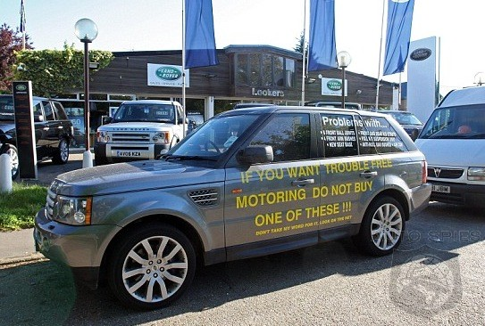 A Range Rover With Reliability Problems? You're KIDDING? ;)