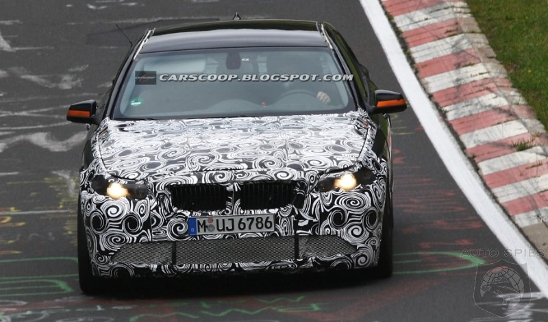 GENEVA MOTOR SHOW PREVIEW: SPYSHOTS- Next BMW M5 To Tear EVERYTHING To Shreds?