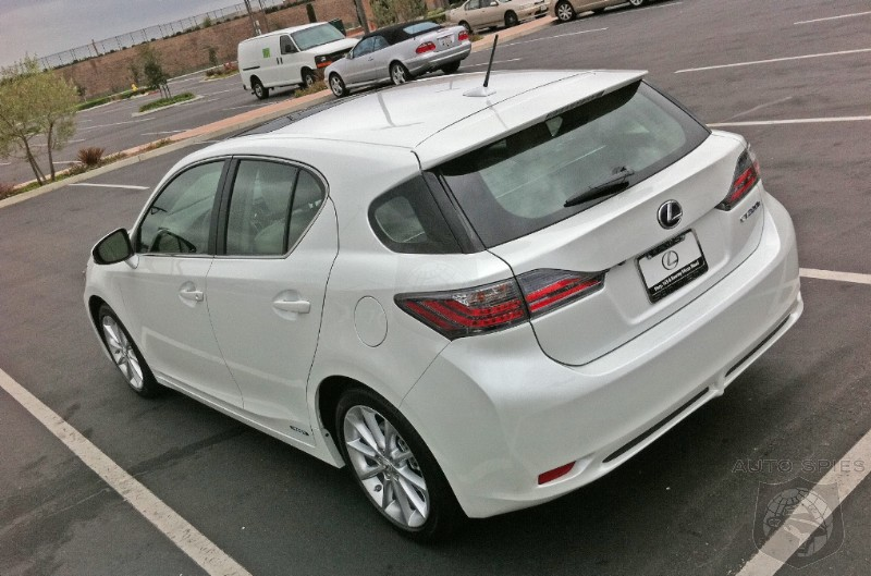 First Lexus CT200h's Hitting The Streets. Destined For Long Term Success Or Veering Lexus In Wrong Direction?