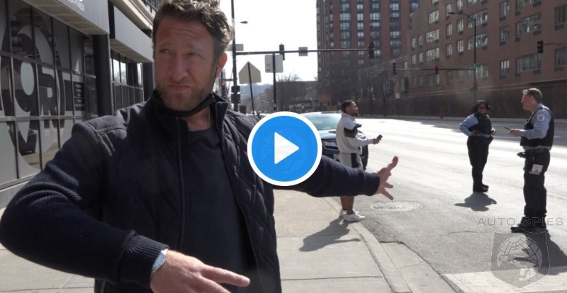 SPIED ON VIDEO! Barstool Sports' Dave Portnoy Witnesses LIVE CARJACKING In Chicago While Trying To Do A Pizza Review!