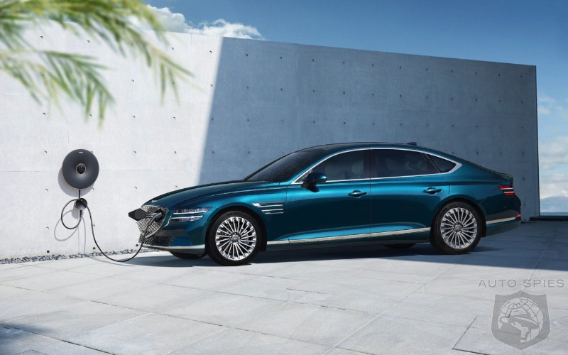 SHANGHAI SURPRISE 2022 Genesis Electrified G80 Debuts And Has Up To 310 Miles Of Range Does ANYONE Care
